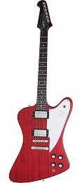 ЭЛЕКТРОГИТАРА EPIPHONE FIREBIRD STUDIO WORN CHERRY WITH CHROME HARDWARE