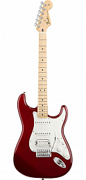 ЭЛЕКТРОГИТАРА FENDER STANDARD STRATOCASTER HSS MN CANDY APPLE RED