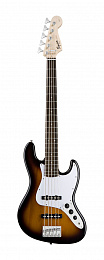 БАС-ГИТАРА FENDER SQUIER AFFINITY JAZZ BASS V RW BROWN SUNBURST