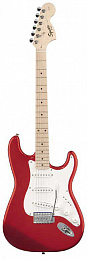 ЭЛЕКТРОГИТАРА FENDER SQUIER AFFINITY STRATOCASTER MN CHROME RED