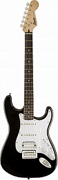 Электрогитара FENDER SQUIER BULLET STRATOCASTER WITH TREMOLO HSS BLK