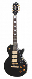 ЭЛЕКТРОГИТАРА EPIPHONE LP BLACK BEAUTY EBONY GLD HDWE 3 PICKUP