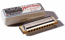 ГУБНАЯ ГАРМОШКА HOHNER MARINE BAND 1896/20 G NAT.MINOR