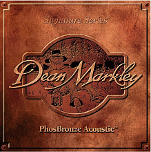 СТРУНЫ DEAN MARKLEY PHOSBRONZE ACOUSTIC 2064 (92/8) TLT