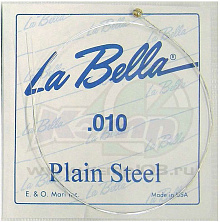 СТРУНА LA BELLA PLAIN STEEL PS010