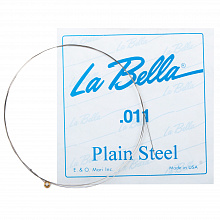 Струна LA BELLA PLAIN STEEL PS011