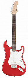 Fender Squier Bullet Stratocaster SSS Hard Tail Rw Fiesta Red