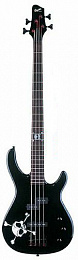 БАС-ГИТАРА FENDER SQUIER MB-4 MODERN BASS (RW) SKULL & CROSS