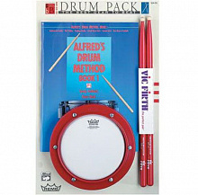 НАБОР  REMO HK-0006-SK SNARE PAD STARTER KIT ENGLISH BOOK