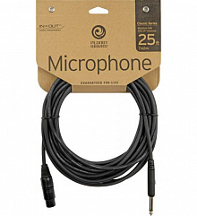 Микрофонный шнур PLANET WAVES PW-CGMIC-25