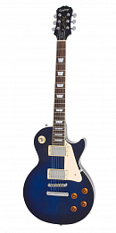 ЭЛЕКТРОГИТАРА EPIPHONE LP STANDARD PLUS TRANS BLUE CHROME HARDWARE