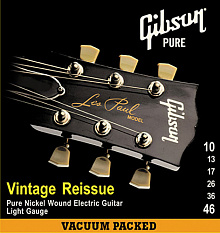 СТРУНЫ GIBSON SEG-VR10 VINTAGE RE-ISSUE PNW